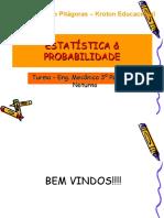 Aulas de Estatistica e Probabilidade - 1