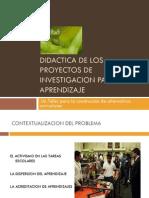 Didactica de Los Proyectos de Investigacion