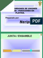 TIPOS DE CORDONES DE UNIONES SOLDADAS POSICIONES EN