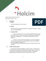 Fieldtrip Report2
