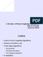 Literature Review of Force-based Graphing Algorithms