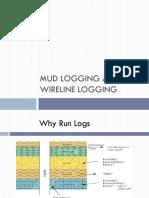 Mud Logging and Wireline Logging