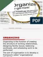 Organization in human resource management