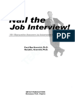 (Ebook - Resume) Job Interview - 101 Dynamite Answers To Interview Questions 1-57023-207-5.pdf
