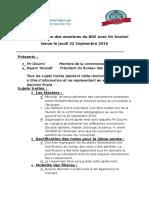 PV de La Re_union Douimi 22
