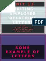 Writing Employee