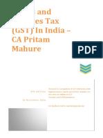 GST - Revised Model Law - Hand Book - 4th Edn - CA Pritam Mahure