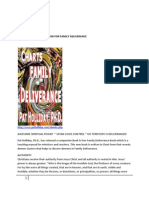 Chart Book. Family Deliverance