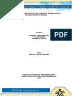 ACT 18 Evidencia 5 Formulación de Una Negociación Comercial Internacional y Documentación Requerida