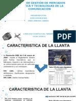 Caracteristica de La Llanta