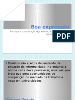 Boa Expressão - Power Point