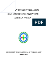 Pp 2 Panduan Pengintegrasian Dan Koordinasi Aktivitas Asuhan Pasien