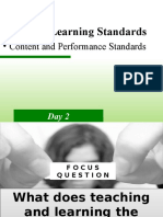 5. Grade 8 Learning Standards