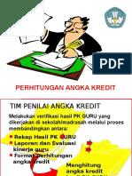 Penghitungan Angka Kredit 11 Desember 2010 (Millinium)