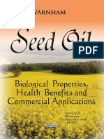 Varnham - Seed Oil - Biological Properties, Health Benefits and Commercial Applications 2015