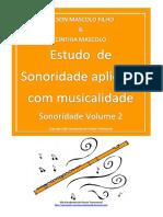 Estudo de Sonoridade - Nilson Mascolo & Cinthia Mascolo - Volume 2