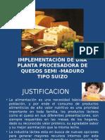 Implementación de Planta Quesera