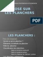 LES Planchers Architecture