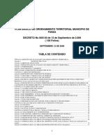 Esquema de Ordenamiento Territorial - Decreto - Funza - Cundinamarca - 1999