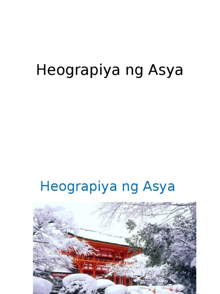 Easiest Heograpiya Ng Asya Ppt {Xixi Music}