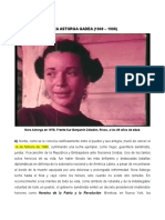 Nora Astorga Gadea (1949 - 1988)