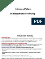 Fallentypen Und Reservenberechnung