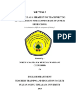 230765264 Using r a f t as a Strategy to Teach Writing Advertisement for Second Grade of Junior High School