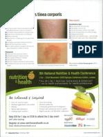 Dermatitis numularis Vs Tcorporis