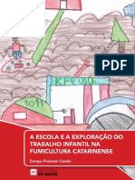 A escola e a exploraçao do trabalho infantil na fumicultura catarinense