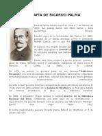 BIOGRAFÍA DE RICARDO PALMA.docx