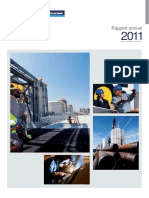 Rapport Annuel Entrepose Contracting 2011