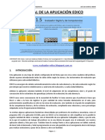 Manual de La Aplicacion Edico