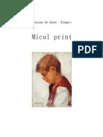 Micul Print - Antoine de Saint Exupery