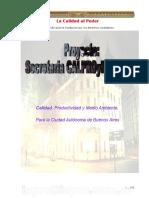 Calidad, Productibidad y Medio Ambiente en La Ciudad de Buenos Aires