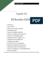 El Servidor LDAP ( cap. 33 )