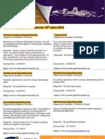 Job Vacancies DC 18.6.10