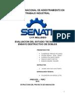 1.- Evaluacion Del Estudio Tecnico Del Ensayo Destructivo de Dobles