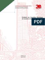 TCC - Andre Y Santos - Paridade Nos Conselhos Municipais de Assistencia Social v 31 08 2016