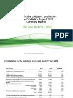Annual Statistical Report 2012 (PDF 295kb)