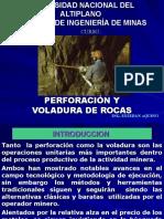 Perforacion y Voladura de Rocas i