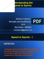 Understanding the Speed in Sports