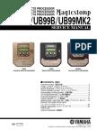 Yamaha Magicstomp Ub99a Ub99b Ub99mkii