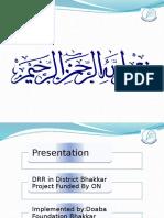 DRR Presentation
