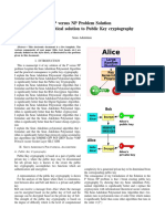 p-versus-np-1 cryptography