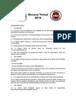 Gincana Virtual TNT Regulamento