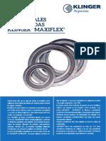 Juntas Espiraladas Klinger Maxiflex-2016