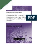 Emile Armand- Formas de Vida en Común Sin Estado