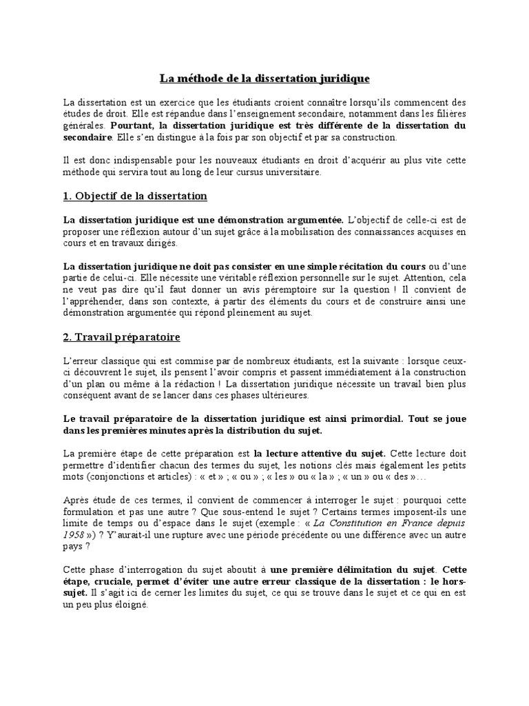 introduction dissertation droit