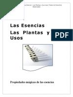 Las Esencias Las Plantas y Sus Usos
