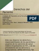 carta de derechos de paciente